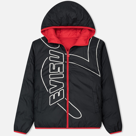 Мужская куртка Evisu Reversible Insulated Parka Hood Black/Red