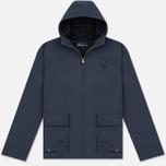 Мужская куртка Fred Perry Austin Hooded Zip Through Midnight Blue фото- 0