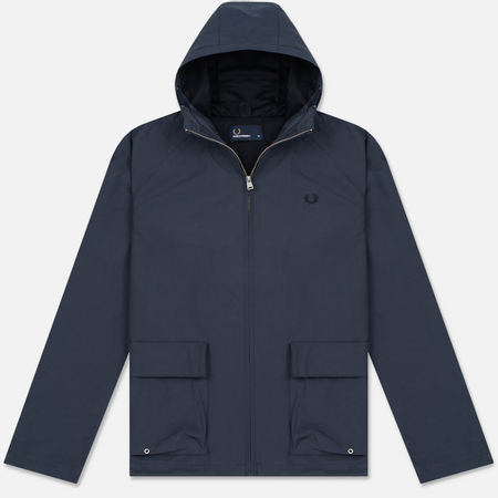 Мужская куртка Fred Perry Austin Hooded Zip Through Midnight Blue