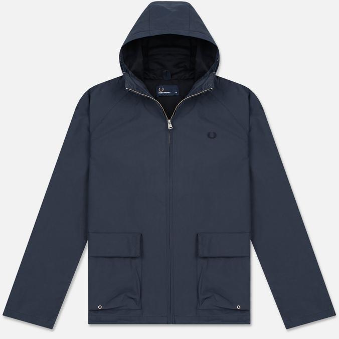 Мужская куртка Fred Perry Austin Hooded Zip Through Midnight Blue