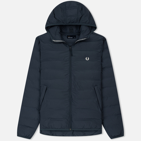 Мужская куртка Fred Perry Insulated Hooded Brentham Dark Airforce