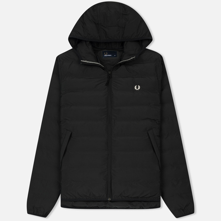 Мужская куртка Fred Perry Insulated Hooded Brentham Black