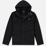 Мужская куртка Fred Perry Quilted Stockport Black фото- 0