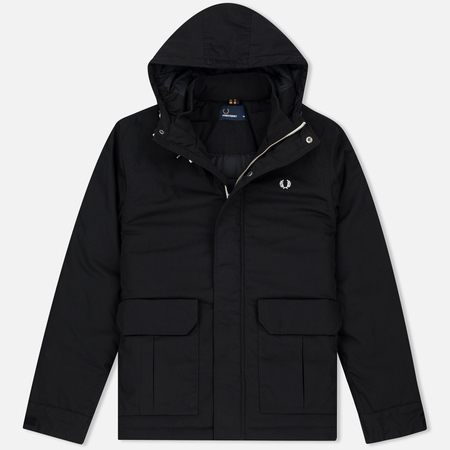 Мужская куртка Fred Perry Quilted Stockport Black