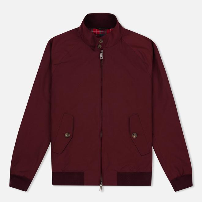 Мужская куртка харрингтон Baracuta G9 Modern Classic Burgundy