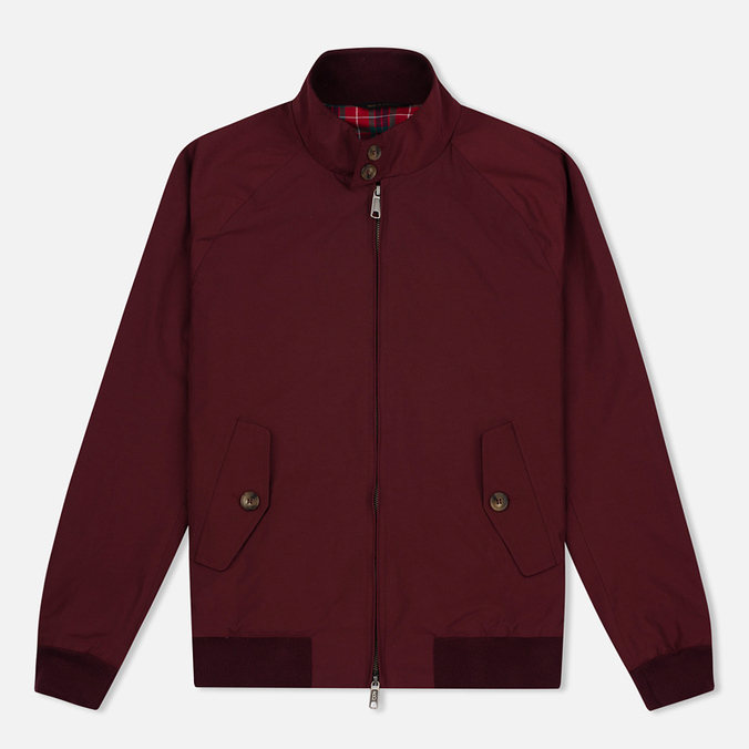 Baracuta G9 Classic Men's Harrington Burgundy