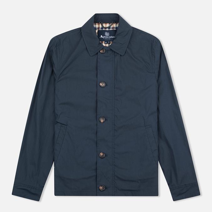 Мужская куртка харрингтон Aquascutum Darwen Navy