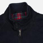 Мужская куртка харрингтон Baracuta G9 Classic Suede Marine фото- 2