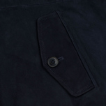 Мужская куртка харрингтон Baracuta G9 Classic Suede Marine фото- 4