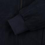 Мужская куртка харрингтон Baracuta G9 Classic Suede Marine фото- 5