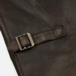 Мужская куртка харрингтон Baracuta G9 Oiled Leather Dark Brown фото- 6