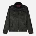 Мужская куртка харрингтон Baracuta G9 Oiled Leather Faded Black фото- 0