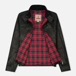 Мужская куртка харрингтон Baracuta G9 Oiled Leather Faded Black фото- 1