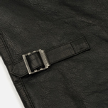 Мужская куртка харрингтон Baracuta G9 Oiled Leather Faded Black фото- 6