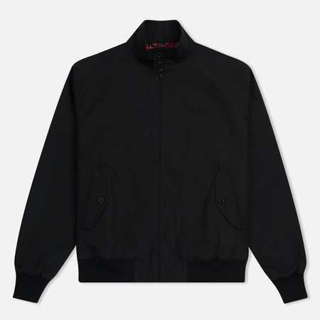Мужская куртка харрингтон Fred Perry Laurel Made In England Black