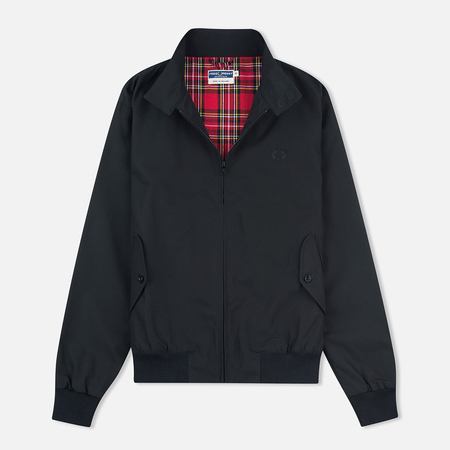 Fred Perry Reissues Made In England Men's Harrington Black