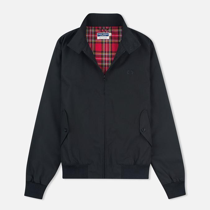 Мужская куртка харрингтон Fred Perry Reissues Made In England Black