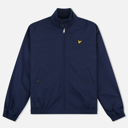 Lyle & Scott Men's harrington Mid Weight Navy