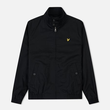 Мужская куртка харрингтон Lyle & Scott Mid Weight True Black