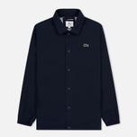 Мужская куртка Lacoste Live Buttoned Canvas Blue фото- 0