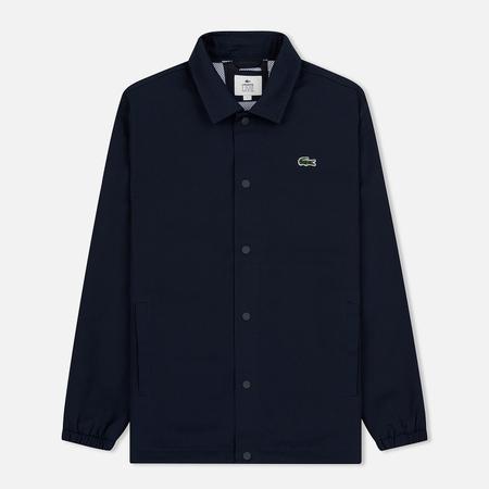 Мужская куртка Lacoste Live Buttoned Canvas Blue