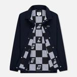 Мужская куртка Lacoste Live Buttoned Canvas Blue фото- 1
