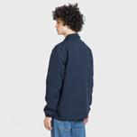 Мужская куртка Lacoste Live Buttoned Canvas Blue фото- 3