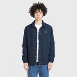 Мужская куртка Lacoste Live Buttoned Canvas Blue фото- 2
