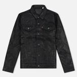 Мужская куртка Levi's Trucker Buffalo Leather Black фото- 0