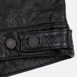 Мужская куртка Levi's Trucker Buffalo Leather Black фото- 6
