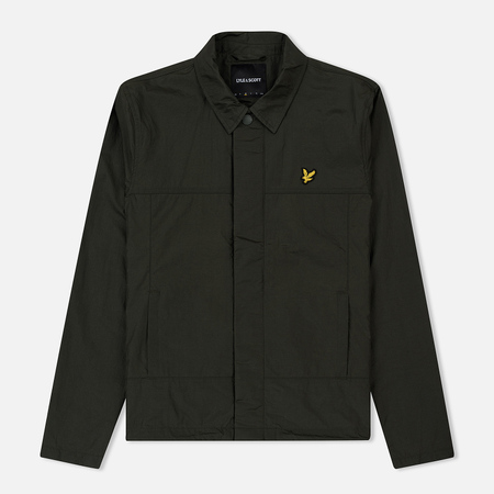 Мужская куртка Lyle & Scott Coach Dark Sage
