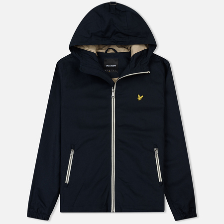 Мужская куртка Lyle & Scott Hooded Twill Dark Navy