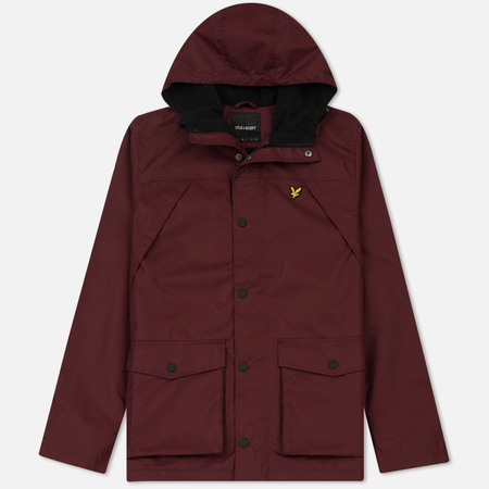 Мужская куртка Lyle & Scott Micro Fleece Lined Claret Jug