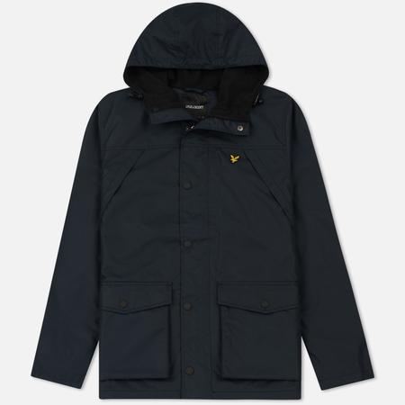 Мужская куртка Lyle & Scott Micro Fleece Lined Navy