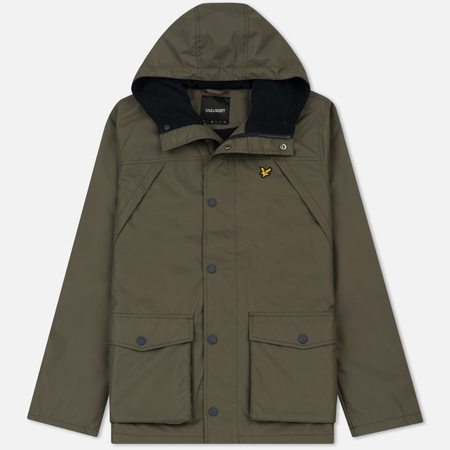 Мужская куртка Lyle & Scott Micro Fleece Lined Olive