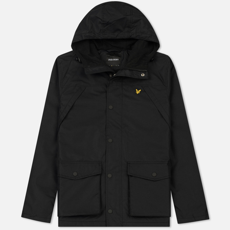 Мужская куртка Lyle & Scott Micro Fleece Lined True Black