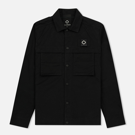 Мужская куртка MA.Strum Samson Overshirt Jet Black