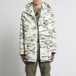 Мужская куртка maharishi Cargo Camo Smock Tigerstripe Murale Sparse Forest фото- 9