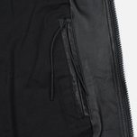 Мужская куртка maharishi Panelwork MA Leather Black фото- 4