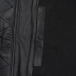 Мужская куртка maharishi Panelwork MA Leather Black фото- 5