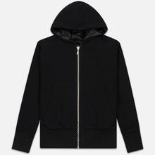 Мужская куртка Maison Margiela Leather Reversible Hoodie Black/Black фото- 2