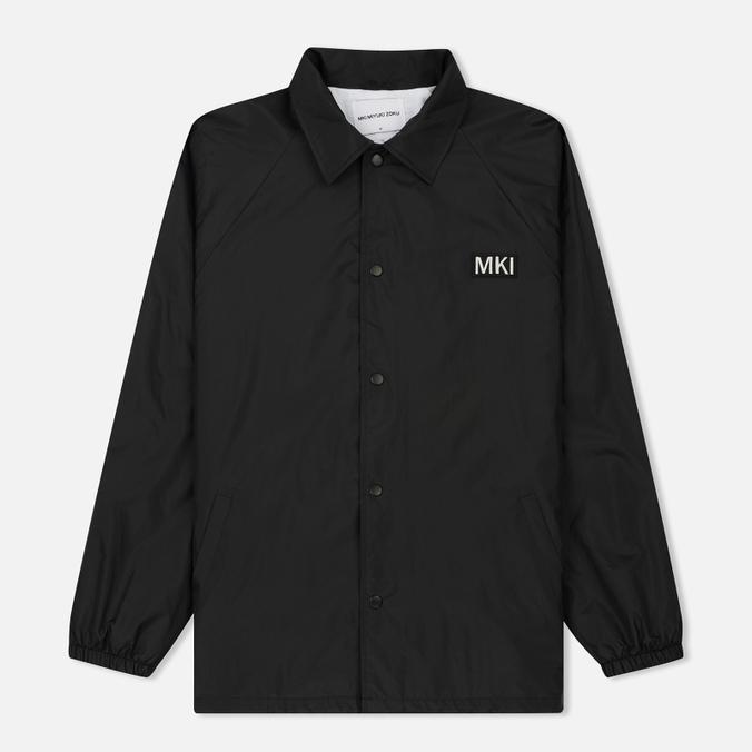 Мужская куртка MKI Miyuki-Zoku Patch Logo Coach Black