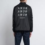 Мужская куртка MKI Miyuki-Zoku Symbol Coach Black фото- 9