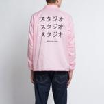 Мужская куртка MKI Miyuki-Zoku Symbol Coach Pink фото- 9