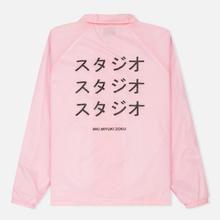 Мужская куртка MKI Miyuki-Zoku Symbol Coach Pink фото- 6