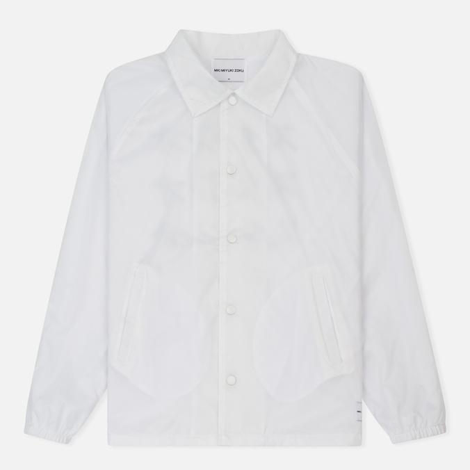 Мужская куртка MKI Miyuki-Zoku Symbol Coach White