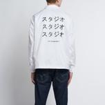 Мужская куртка MKI Miyuki-Zoku Symbol Coach White фото- 9