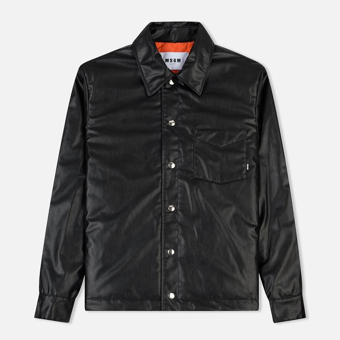 Мужская куртка MSGM Press Stud Black