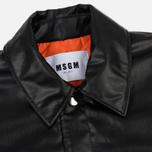 Мужская куртка MSGM Press Stud Black фото- 1
