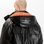 Мужская куртка MSGM Puffer Embroidered Logo Black фото- 9